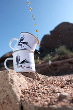 Load image into Gallery viewer, Stainless Steel-Camping Coffee Mug-showing the scenic Camelback Mountain in Scottsdale Arizona