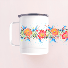 Load image into Gallery viewer, Ukrainian Flowers Camp Mug