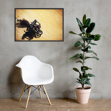 Load image into Gallery viewer, Motorcycle racer - Dakar race - art print