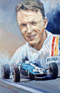 Dan Gurney - Art Print - Historic race