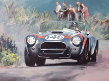 Load image into Gallery viewer, Dan Gurney - Cobra Roadster - Sicily - art print
