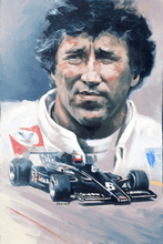 "Load image into Gallery viewer, Art Print - ""Mario Andretti"" - Iconic Racer"