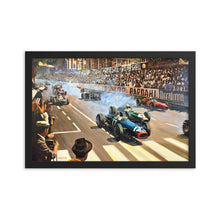 Load image into Gallery viewer, Art Print-Monaco GP 1966-historic race