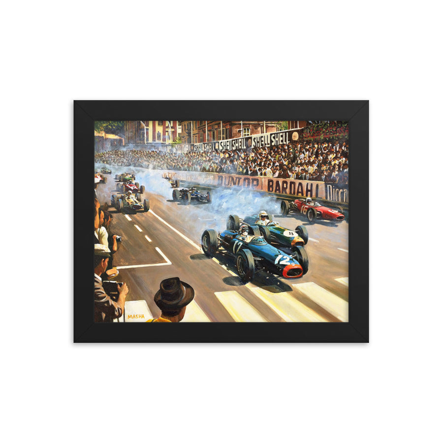 Art Print-Monaco GP 1966-historic race