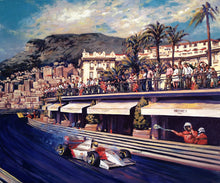 Load image into Gallery viewer, Senna racing in Monaco GP
