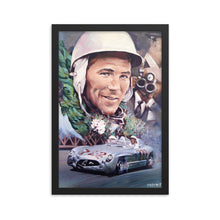 Load image into Gallery viewer, Stirling Moss Mille Miglia Mercedes 300SLR