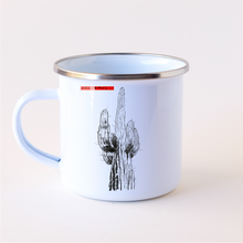 Load image into Gallery viewer, Stainless Steel-Camping Coffee Mug-Saguaro Cactus