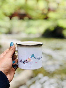 Beach Vibes Camp Mug