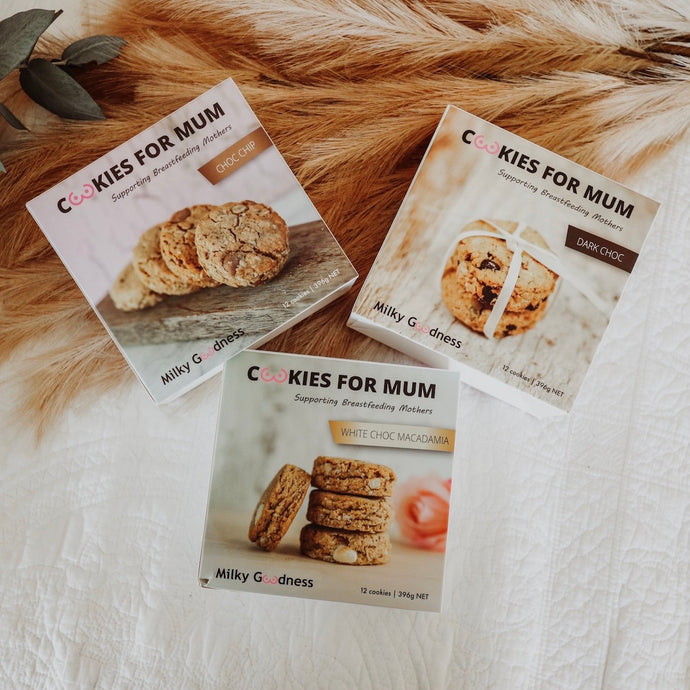 3 Box Lactation Cookie Bundle