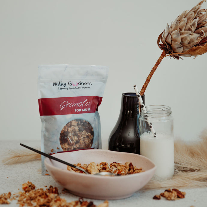 Berry-Nice Lactation Granola