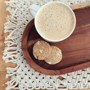 White Chocolate Chip & Macadamia Lactation Cookies