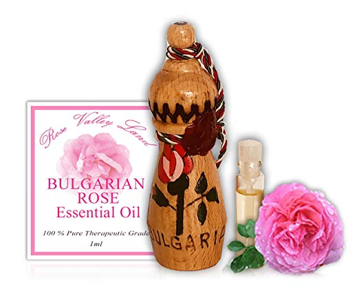 Bulgarian Rose Essential Whitening Aromatherapy Oil (Rosa damascena)