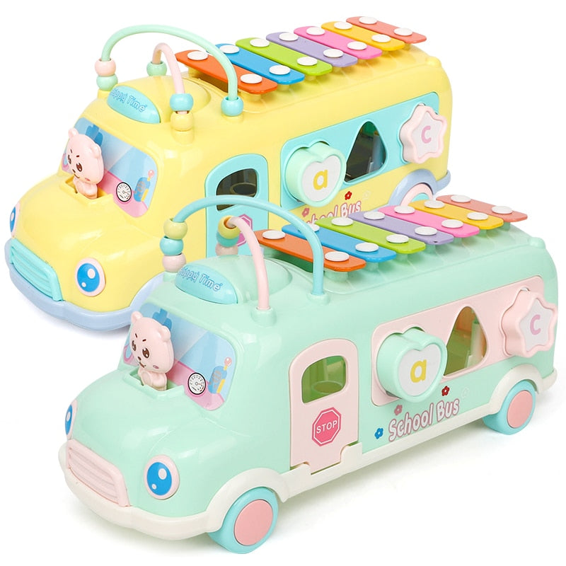 Multifunction Early Educational Car Toys