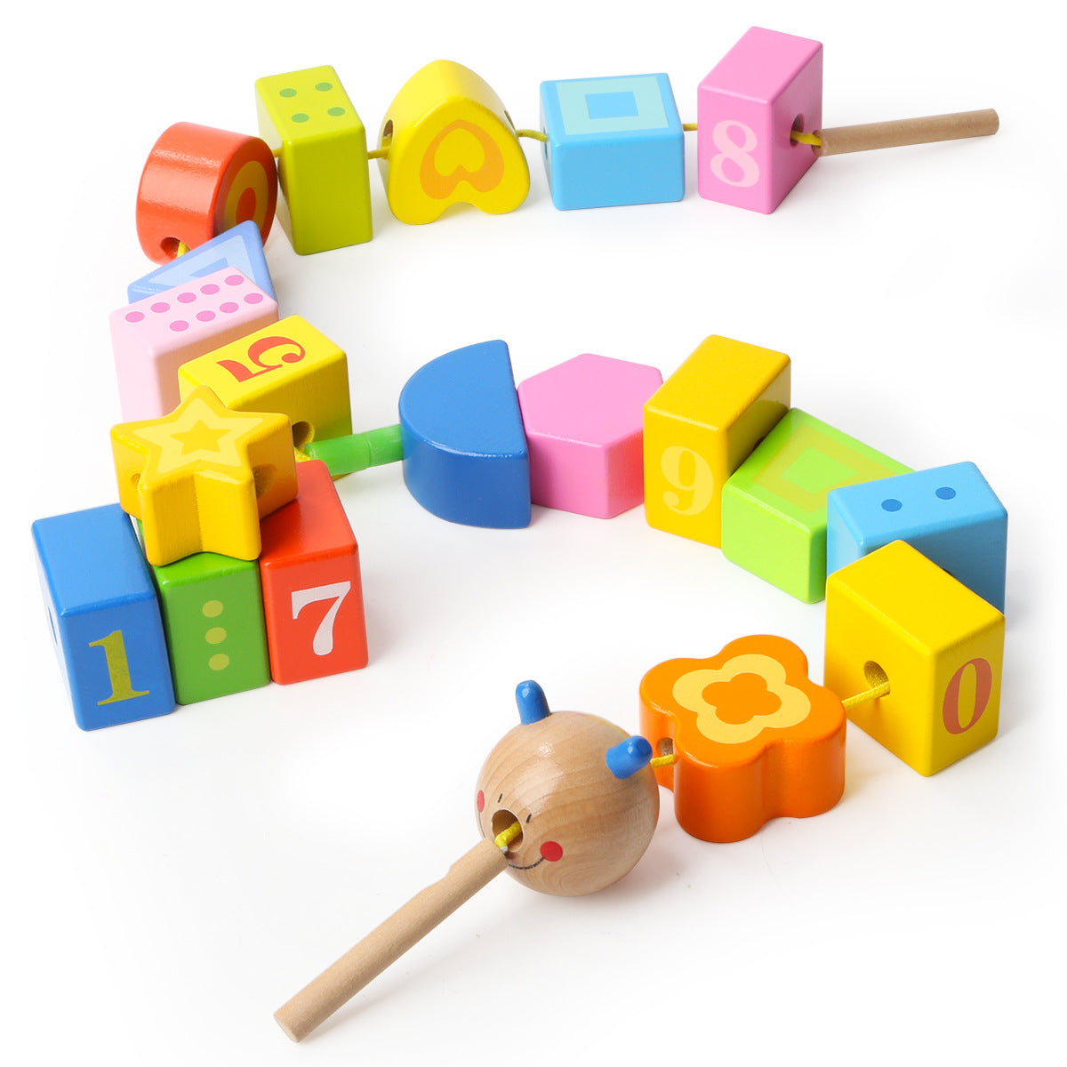 Caterpillar Mathematical Educational Toy - Lynne & Trends