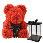 *Teddy Bear Rose for Women Valentines Gift - Lynne & Trends