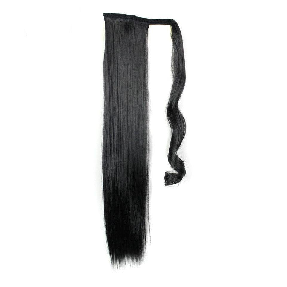Long Straight Synthetic Ponytails Hair Extension - Lynne & Trends