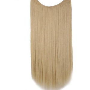 Invisible Wired Natural Silky Straight Synthetic Hair Extension - Lynne & Trends