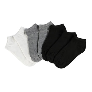 Suzette Low Cut Ankle Sock (7Pair) - Lynne & Trends