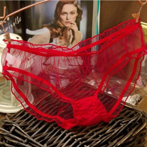 Mujer Lacy Mesh Thongs - Lynne & Trends