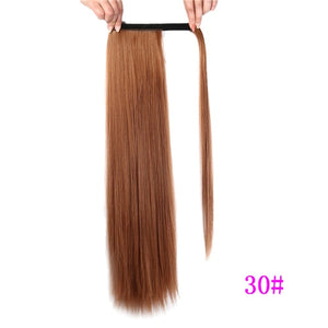 Long Silky Straight Ponytails Hair Extension - Lynne & Trends