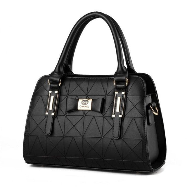 Chanel Black Luxury Fashion Leather Handbag - Lynne & Trends