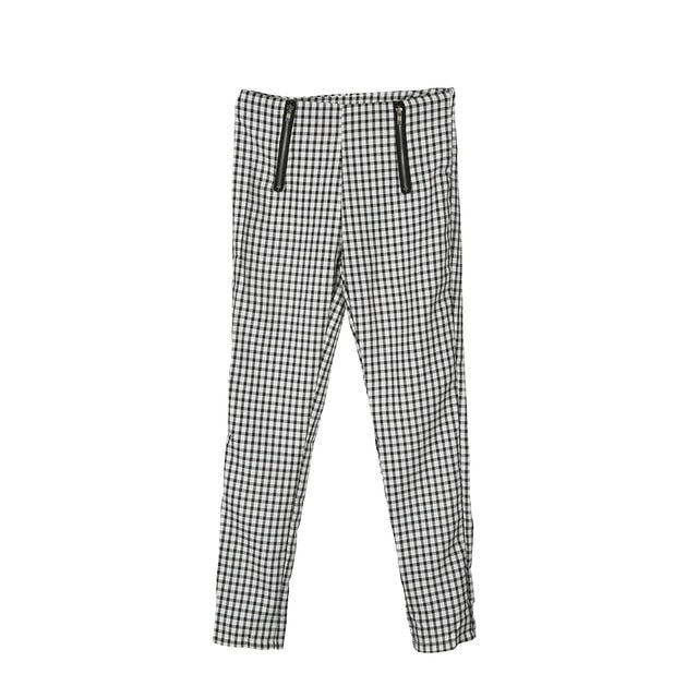 Aenor High Waisted Checkered Pants - Lynne & Trends