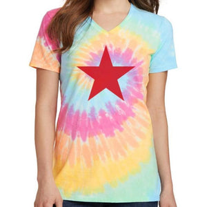 Soviet Russia Red Star Dye Tee - Lynne & Trends