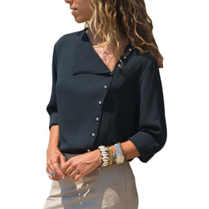 Lolita Long Sleeve Chiffon - Lynne & Trends