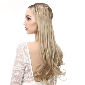 Natural Flip Hidden Secret Wire Synthetic Hair Extension - Lynne & Trends
