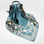 Lucretia Luxury Silk Satin Scarves - Lynne & Trends