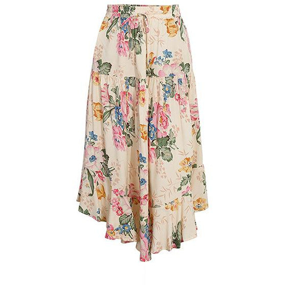 Floral Beach Lady Casual Skirt - Lynne & Trends