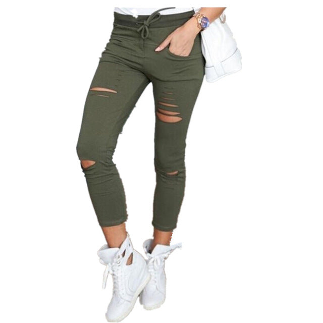 Lin High Waist Stretchable Skinny Denim Jeans - Lynne & Trends