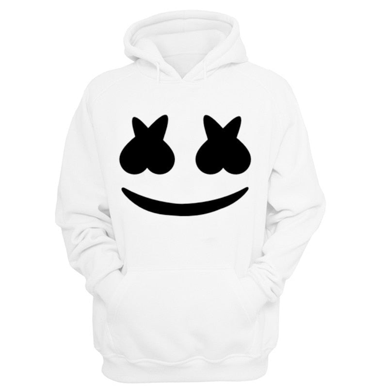 Summer White Marshmellow Hoodie - Lynne & Trends
