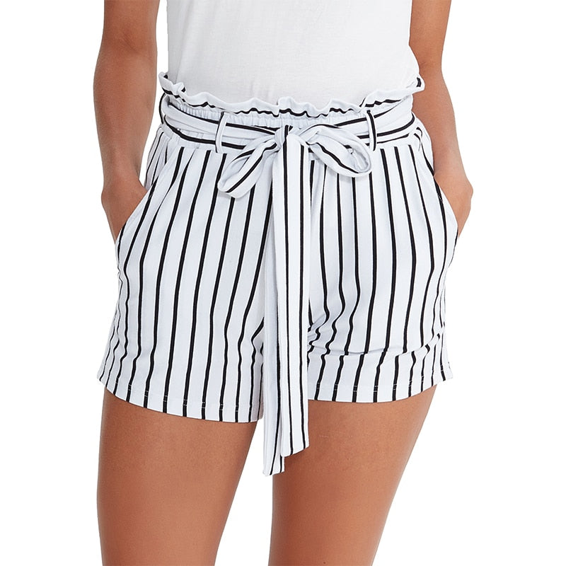 Kyra Eco-Friendly Knitted Cotton Shorts - Lynne & Trends