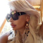 Ocean Candy Oversized Retro Sunglasses - Lynne & Trends