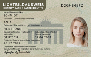 Lichtbildausweis - ID Direct
