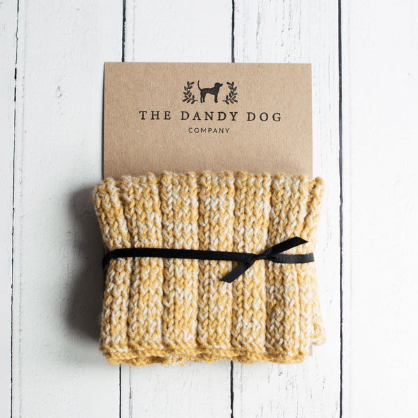Mustard Woollen Snood