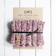 Raspberry Woollen Snood