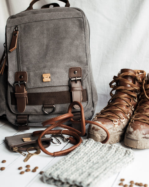 Day Trippers Canvas Backpack