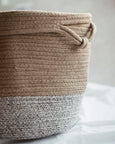 Cotton Rope Dog Toy Basket