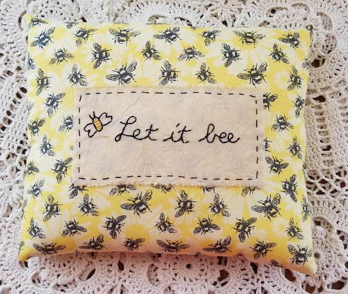Let it Bee Pillow
