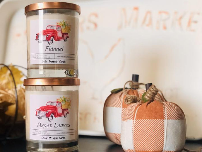 Flannel Scented Candle