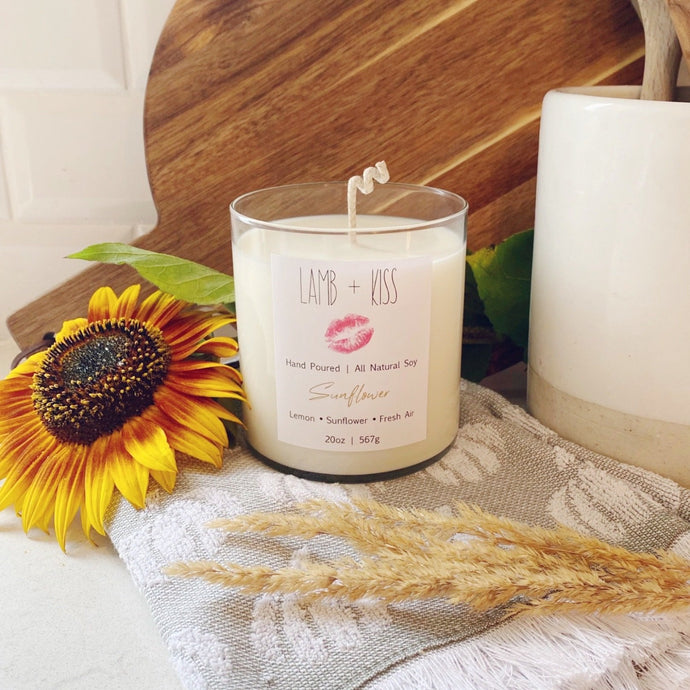 Sunflower Candle 10 oz