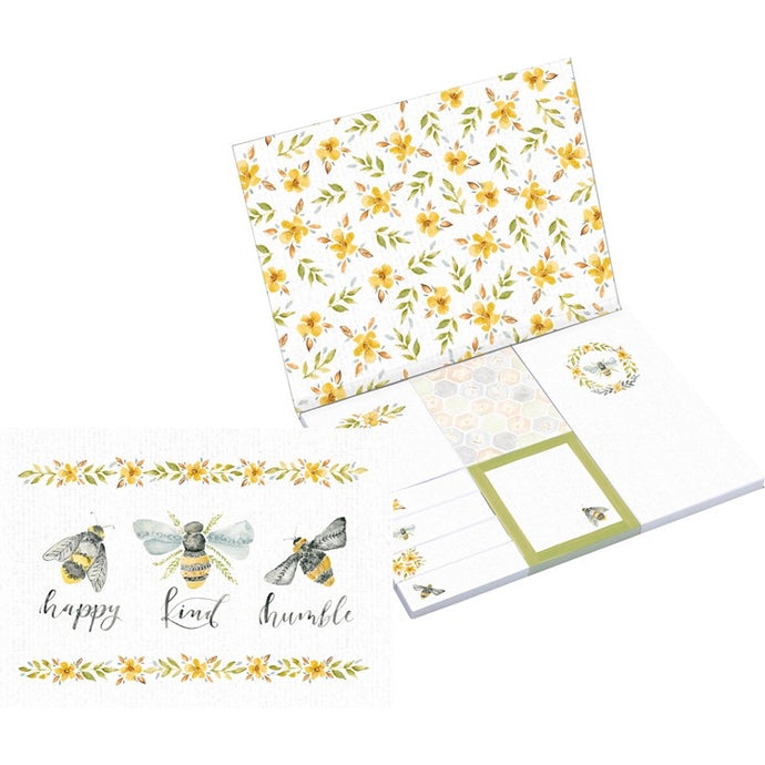 Bee sticky note set