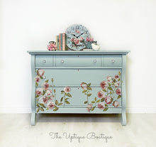 Load image into Gallery viewer, French country chic solid wood sideboard dresser buffet credenza