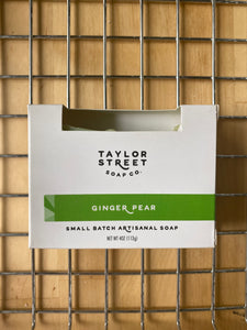 Ginger Pear Taylor Street Soap