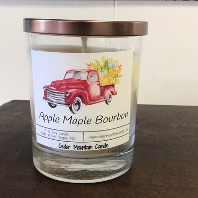 Apple maple Bourbon Candle