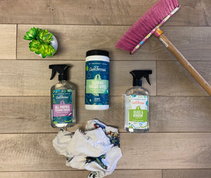 Cottage opening spring cleaning kit