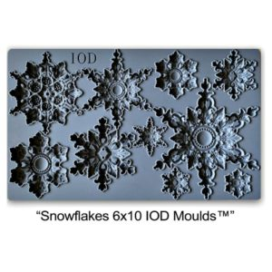 Snowflakes 6 x 12 moulds