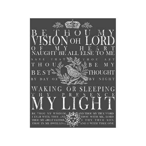 Be thou my vision transfer IOD